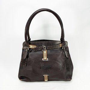 FENDI Selleria Leather Grand Borghese Tote Bag